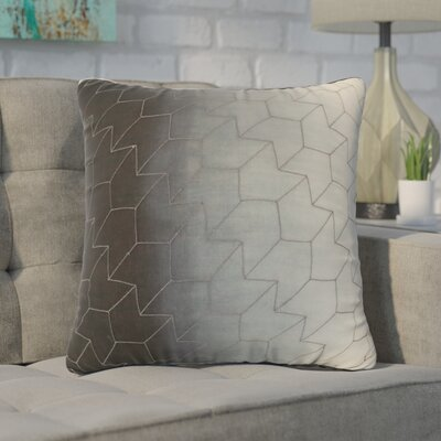 Agatha Dip Dye Quilted Cotton Throw Pillow