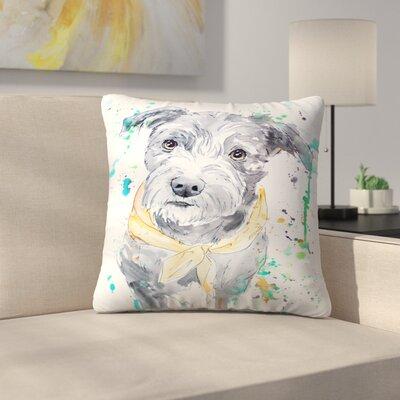 Terrier Throw Pillow Size: 16 x 16