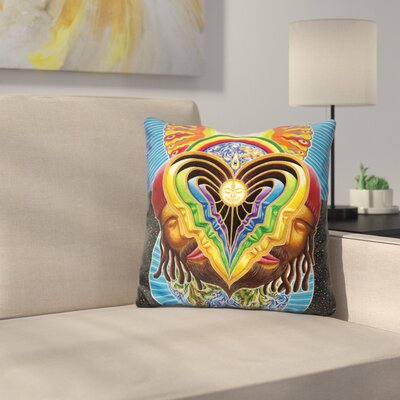 Peeling Bodies Fussion Throw Pillow