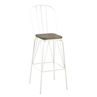 Hardnett 30 Bar Stool Color: White