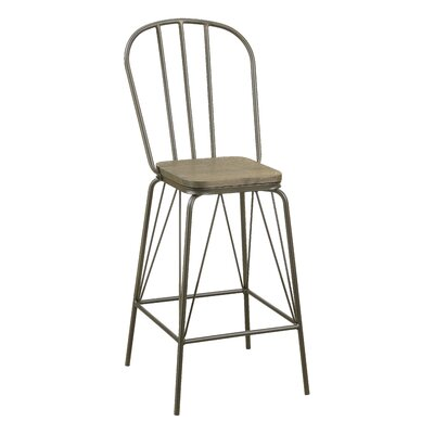 Hardnett 26 Bar Stool Color: Bronze