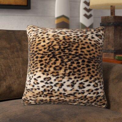 Beirut El Paso Leopard Faux Fur Throw Pillow