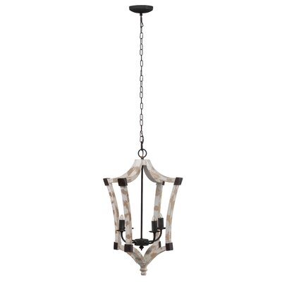 Gardin 4-Light Geometric Pendant