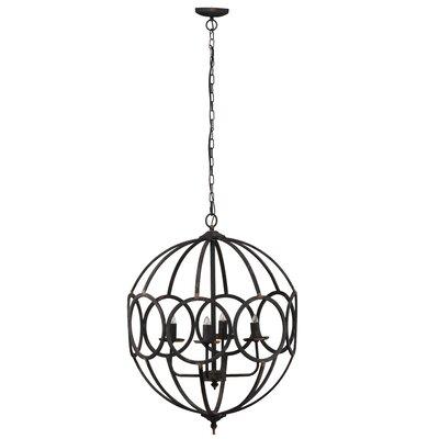 Whisenhunt 4-Light Globe Pendant