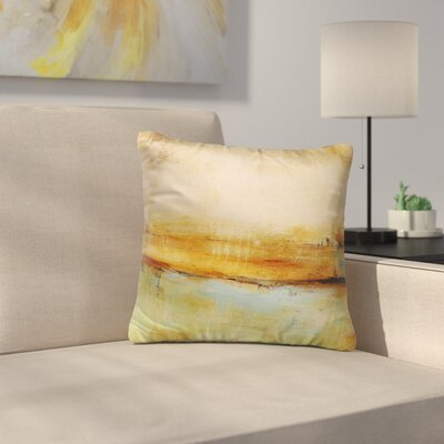 Cher Abstract Indoor/Outdoor Throw Pillow Size: 26 H x 26 W x 8 D