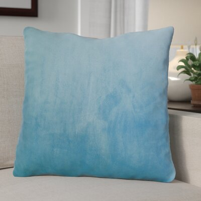 Eason Supersoft Shell Pillow Cover Color: Silver Blue