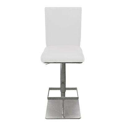 Stickland 25 Bar Stool Color: White