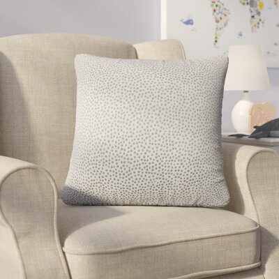 Bartlett Polka Dot Throw Pillow Color: Stone