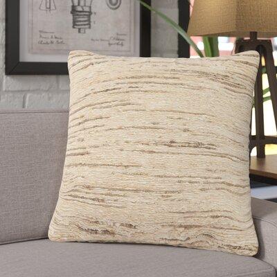 Eberardo Textured Silk Throw Pillow Fill Material: Polyester/Polyfill
