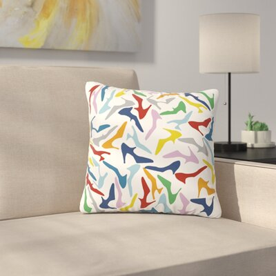 Shoe by Project M Outdoor Throw Pillow Color: Multi