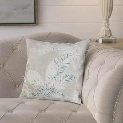 Ilana Throw Pillow Color: Royal, Size: 18x18