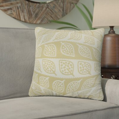 Graysen Foliage Throw Pillow Color: Brown