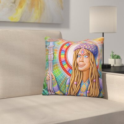 Shayana the Shamaness Throw Pillow