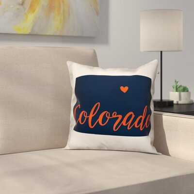 Colorado Pride Throw Pillow