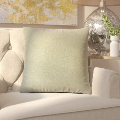Ambriz Solid Throw Pillow Color: Dark Gray