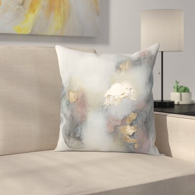 Christine Olmstead Rose3 Throw Pillow Size: 18 x 18