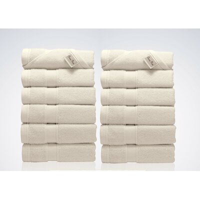 Lint Free Turkish Washcloth Color: Beige