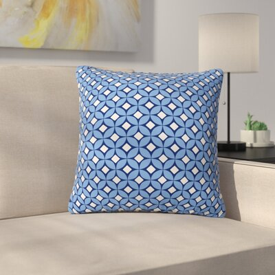 Throw Pillow Size: Medium, Color: Blueberry