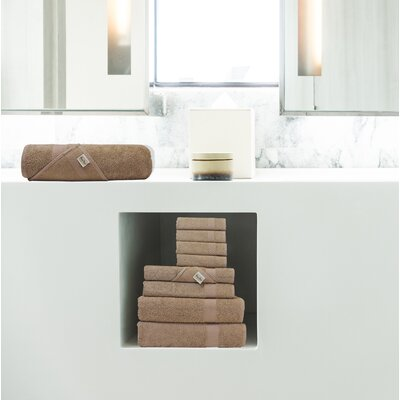 Lint Free Turkish Shower Bath Towel Color: Brown