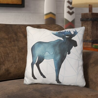 Gleaton Animal Silhouettes Throw Pillow