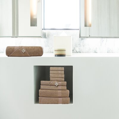 Lint Free Single Oversized Premium Turkish Bath Sheet Color: Brown