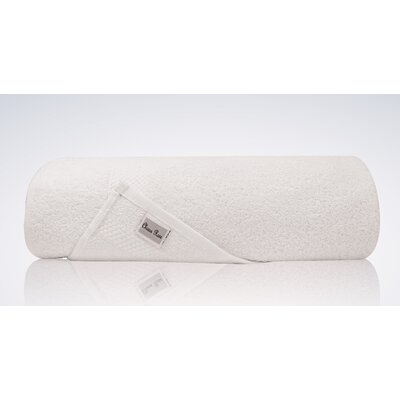 Lint Free Single Oversized Premium Turkish Bath Sheet Color: White