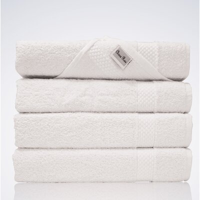Lint Free Turkish Hand Towel Color: White
