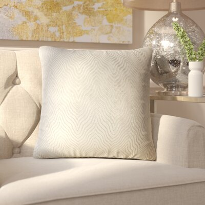 Anie Solid Down Filled Throw Pillow Size: 18 x 18, Color: Stone