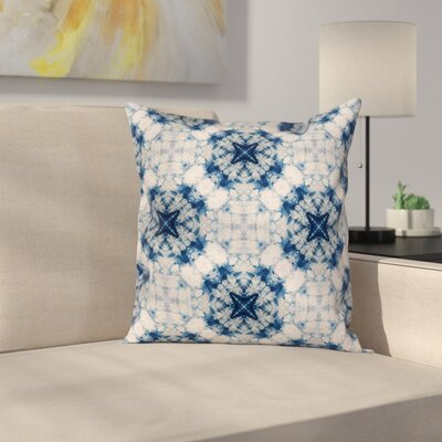 Indian Tie Dye Elegant Square Pillow Cover Size: 20 x 20