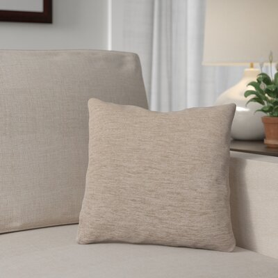 Danin Outdoor Throw Pillow Color: Fawn, Size: Large