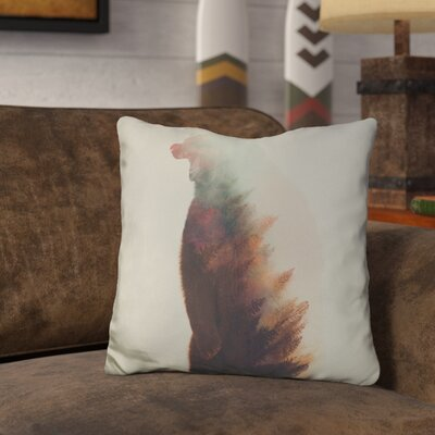 Leonidas Norwegian Woods Bear Throw Pillow
