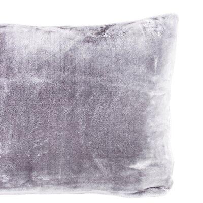 Laufer Velvet Sham Color: Amethyst
