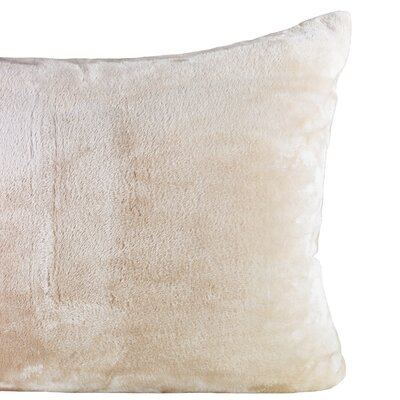 Laufer Velvet Sham Color: Taupe