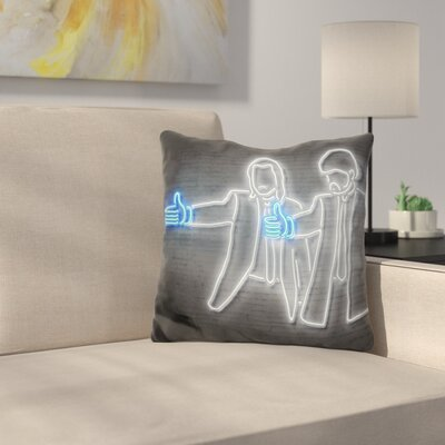 Like Fiction Throw Pillow