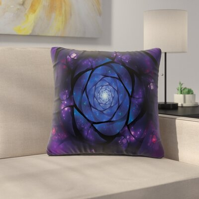 Psychedelic Pillow Cover Size: 16 x 16