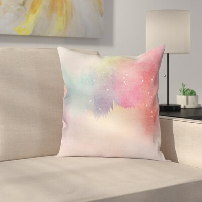 Modern Square Pillow Cover with Zipper Size: 16 x 16