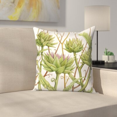 Artichok 1 Throw Pillow Size: 14 x 14