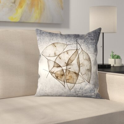 Maja Hrnjak Leaves5 Throw Pillow Size: 16 x 16