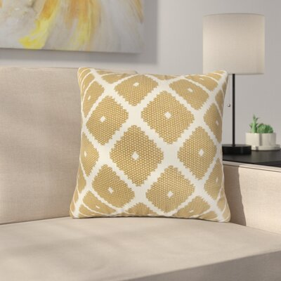Dimatteo Strayhorn Geometric Cotton Throw Pillow Color: Copper