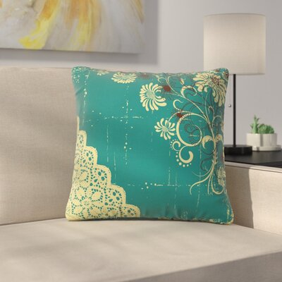 Modern Removable Square Pillow Cover Size: 18 x 18