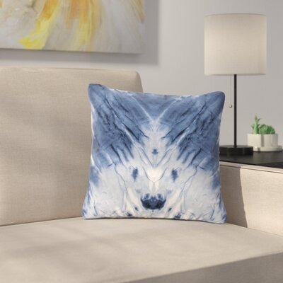 Dye Pattern Outdoor Throw Pillow Size: 16 H x 16 W x 5 D