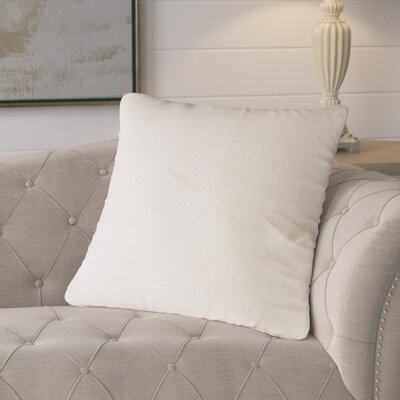 Mendham Cream Linen Throw Pillow