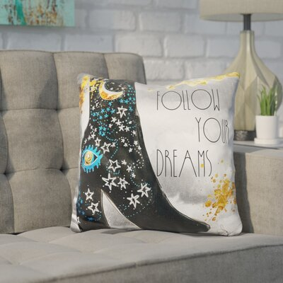 Karas Follow Your Dreams Throw Pillow