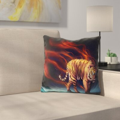 Daybringer Throw Pillow