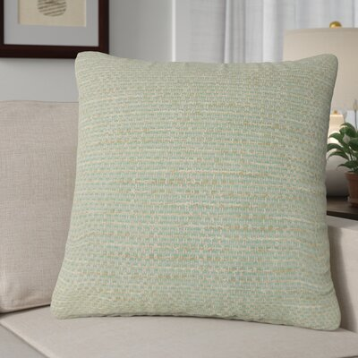 Ectasia Solid Down Filled 100% Cotton Throw Pillow Size: 24 x 24