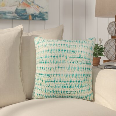 Dov Outdoor Throw Pillow Color: Aqua, Size: 20 H x 20 W