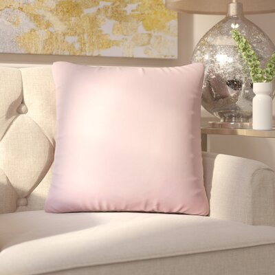 Aikin Solid Cotton Throw Pillow