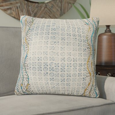 Del Mesa Decorative 100% Cotton Throw Pillow