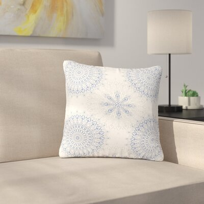 Julia Grifol Mandalas in Vector Geometric Outdoor Throw Pillow Size: 18 H x 18 W x 5 D