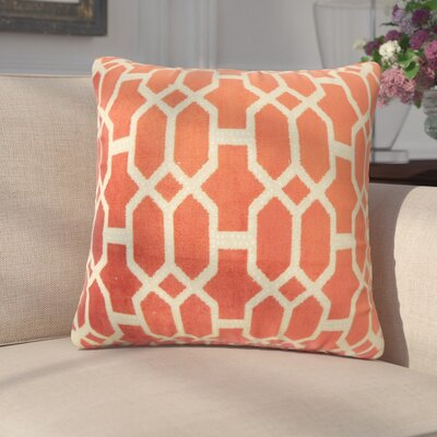 Pepper Geometric Down Filled Throw Pillow Size: 24 x 24